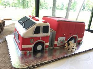 3d firetruck