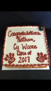 Cy Wood Graduation Sheet