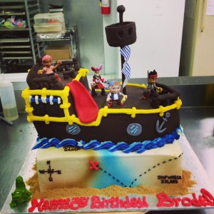 Jake and the Neverland Pirate 3D Cake
